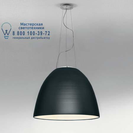 Artemide A242800 подвесной светильник NUR 1618 FLUO серый антрацит