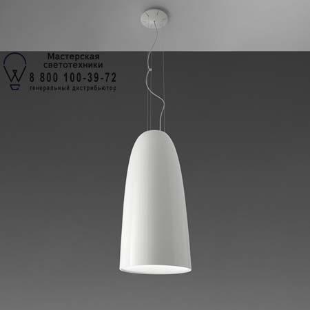 NUR 75 GLOSS SOSPENSIONE глянцевый белый, подвесной светильник Artemide A243900