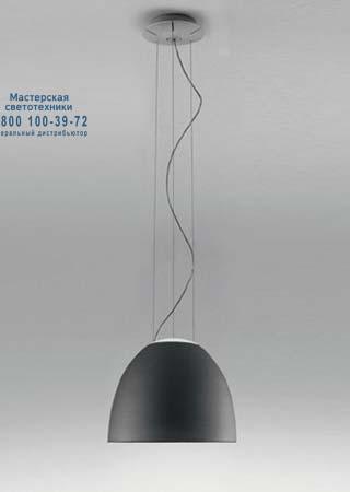 NUR MINI серый антрацит, подвесной светильник Artemide A244000