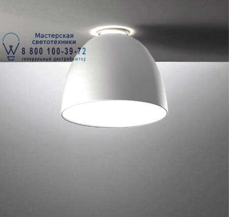 A244210 Artemide NUR MINI SOFFITTO HALO серый алюминий