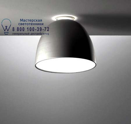Artemide A244400 NUR MINI SOFFITTO HIT серый антрацит