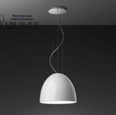 Artemide A244900 подвесной светильник NUR MINI GLOSS HALO глянцевый белый