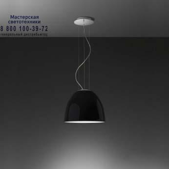 Artemide A245110 подвесной светильник NUR MINI GLOSS FLUO глянцевый черный