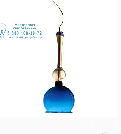 Artemide C141310 подвесной светильник FENICE 8 синий с трансформатором