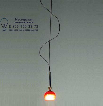 FENICE 15 красный, подвесной светильник Artemide C142800