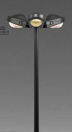 FELSINA 3 c прямым излучением HSE(E40)100W, высота 4м, уличный светильник Artemide T000500 T0005