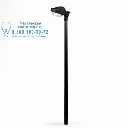 Artemide T003100 T001710 уличный светильник FELSINA прожектор HIE(E27)70W, высота 4м