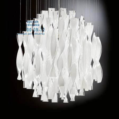 Axo Light PLAURA45BCORE27 потолочный светильник AURA 45 белый с золотой фольгой