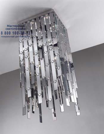 Glitter 48 3 зеркальный, потолочный светильник Axo Light PLGLI483SPCRE27