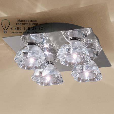Axo Light PLPRIMU4CSCR12V потолочный светильник PRIMUL 4 хром