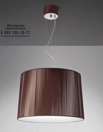 OBI 63 табачный цвет, подвесной светильник Axo Light SPOBI63XTACRE27