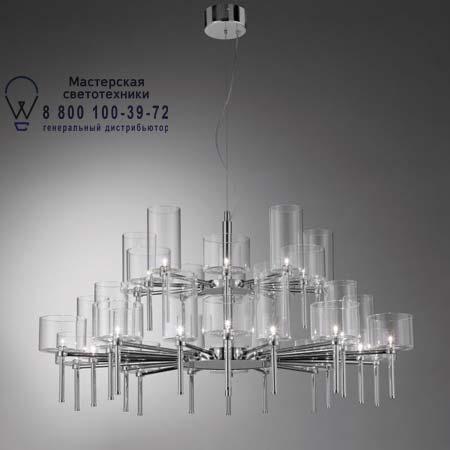 Spillray 30 красный, подвесной светильник Axo Light SPSPIL30RSCR12V