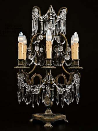 Badari A1-168/6 настольная лампа A1-168/6 с канделябрами