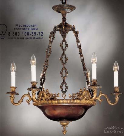 Badari A5-545/6 люстра A5-545/6 коричнево-золотой