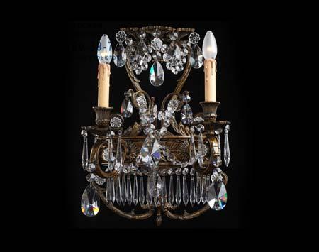 A8-709/2 с кристаллами, бра Badari A8-709/2