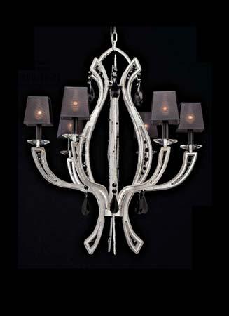 Badari B4-20006-01 подвесной светильник B4-20006-01 MANHATTAN серый с серебристым