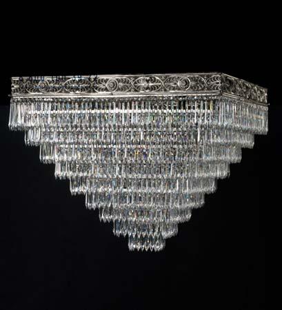 Badari B4-708/Q12 потолочная люстра B4-708/Q12 с кристаллами