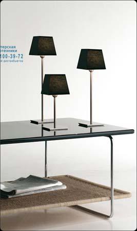 GIBSI 02 2118205 Матовый никель, настольная лампа Bover 2118205