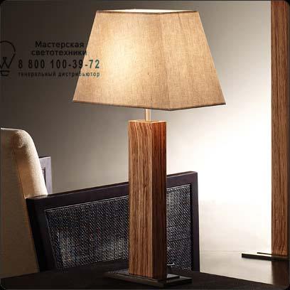Bover 2123931 настольная лампа TAU MADERA 2123931 Никель-вишневый
