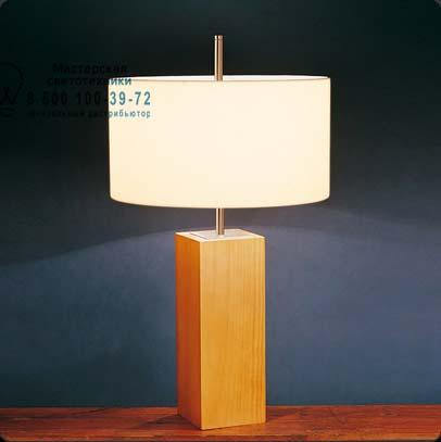 Bover 2128513 настольная лампа MANI MESA 2128513 Никель-вишневое дерево