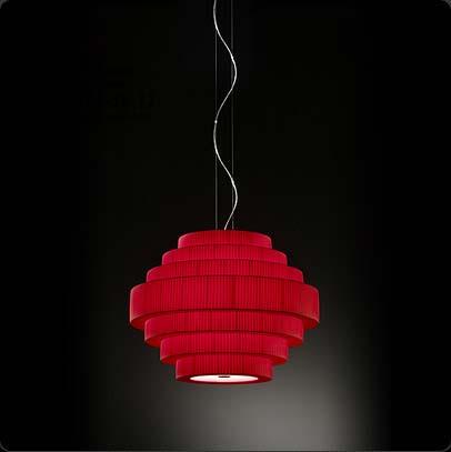 MOS 01 224P619 Красный, подвесной светильник Bover 224P619
