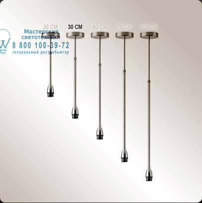 EXTENSIBLE 30 CM / 30 CM EXTENSIBLE SUSPENSION SET 4119203 Коричневое железо, подвесной светильн