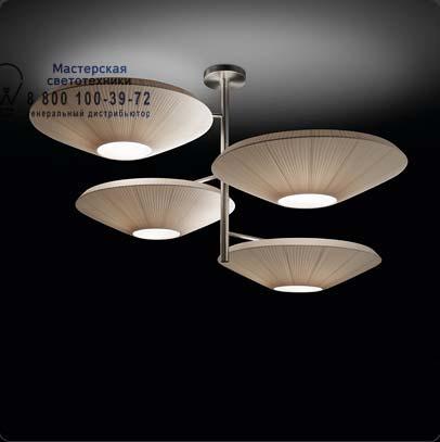 SIAM 4 LUCES 4432005 Матовый никель, потолочный светильник Bover 4432005