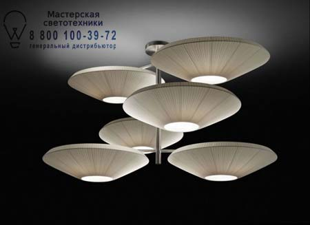 Bover 4632001 SIAM 6 LUCES 4632001 Белый