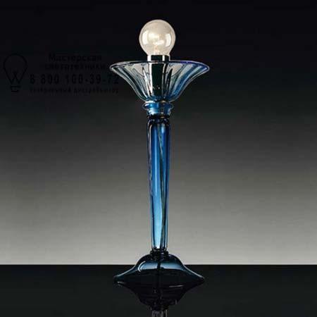 De Majo 7079 L голубое стекло с синей оправой 070790L03