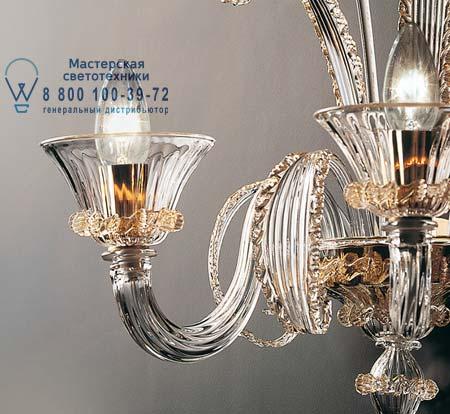 De Majo 7093 A3 золотой с прозрачным стеклом 070930A30