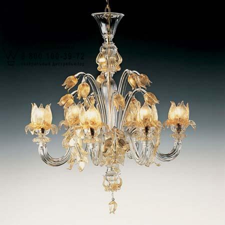 De Majo 7098 A3 золотой с прозрачным стеклом 070980A30