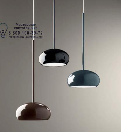 BOA S5D полированный серый, подвесной светильник De Majo 0BOA00S62