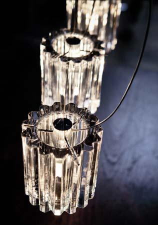 De Majo 0CHAR0S12 подвесной светильник CHARLOTTE S2D прозрачный