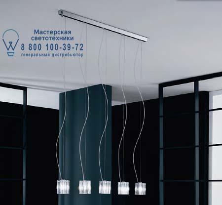 CHARLOTTE S5L прозрачный, подвесной светильник De Majo 0CHAR0S50