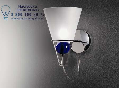 De Majo GEMMA A прозрачный матовый абажур с белым шаром 0GEMM0A01