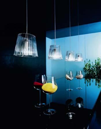 LUM? S0 прозрачное стекло, подвесной светильник De Majo 0LUME0S00