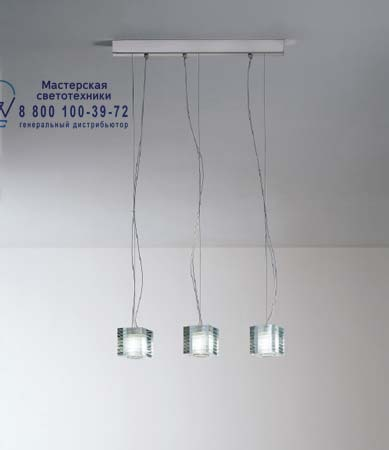 OTTO X OTTO S3L прозрачный, подвесной светильник De Majo 0OTTO0S30