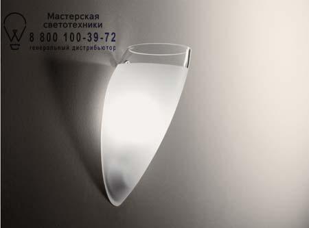 PERONI A1 матовое стекло с сатинированными краями, бра De Majo 0PERO0A66