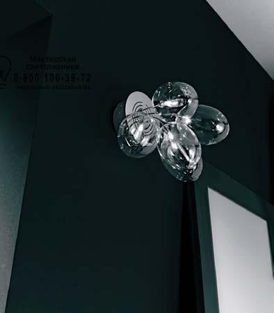 PRO•SECCO A5 прозрачный, подвесной светильник De Majo 0PROS0A50