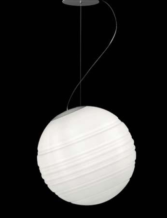 STRATOSFERA S50 бело-серый, подвесной светильник De Majo 0STRA0S50