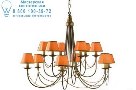 0047/12LA Eurolampart ART DECO 47/12LA бронзовый оранжевый