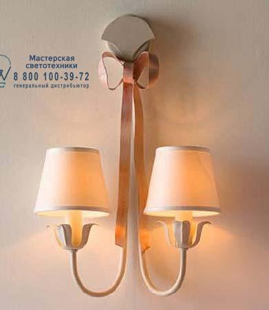 Eurolampart FIOCCHI 0465/02AP кремовый 0465/02AP