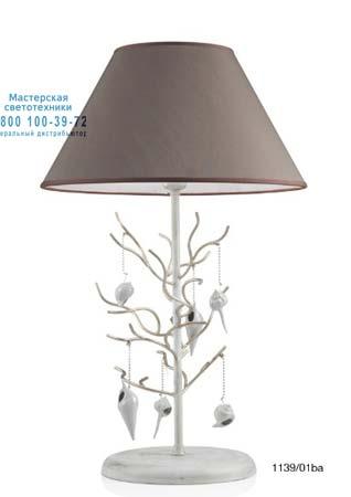Eurolampart 1139/01BA настольная лампа ST.BARTH 1139/01BA серебристо-коричневый