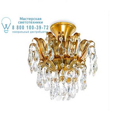 Eurolampart 1208/03PL потолочная люстра GINEVRA 1208/03PL золотой