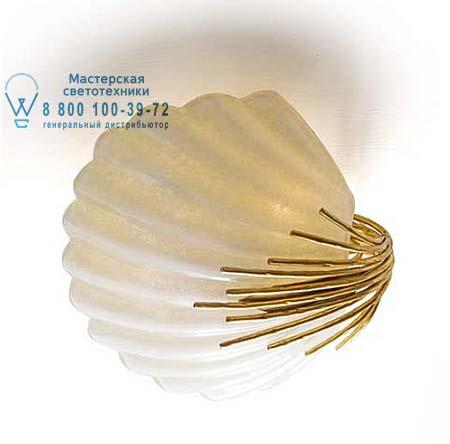 Eurolampart 2269/03PL потолочная люстра CONCHIGLIA 2269/03PL золотой-цвета слоновой кости