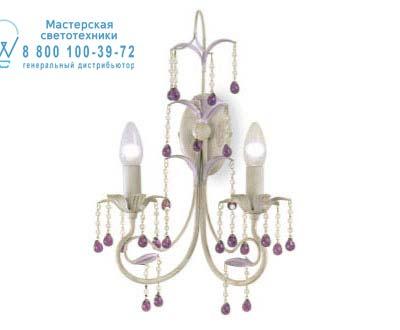Eurolampart 2317/02AP MALVA 2317/02AP цвета слоновой кости с фиолетовым