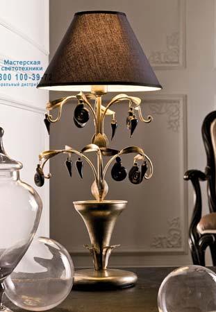 Eurolampart 2349/01BA настольная лампа ARIA 2349/01BA золотисто-черный