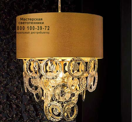 RINGS 2389/02AP золотой, люстра Eurolampart 2389/02AP