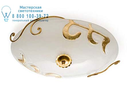 Eurolampart PITTI 2398/02PL бело-золотой 2398/02PL