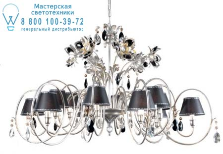 Eurolampart PAT 2457/12LA серебристо-черный 2457/12LA